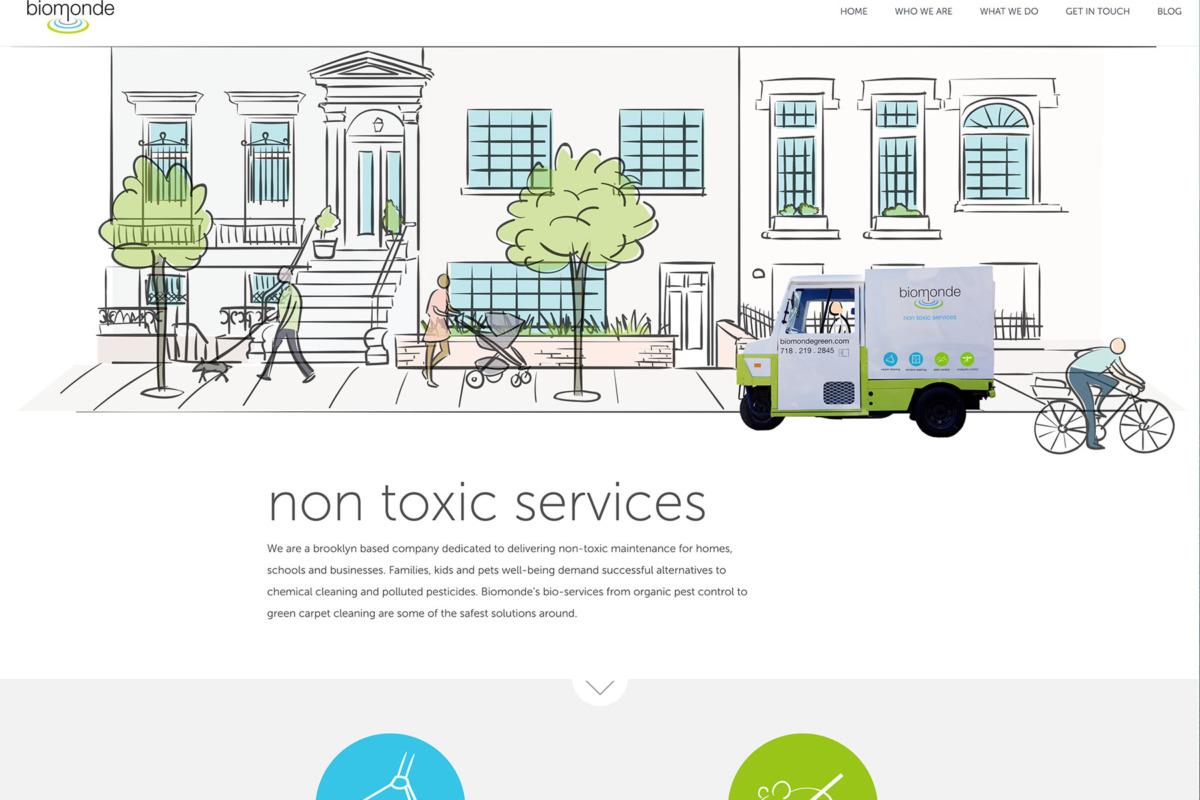 Biomonde home page